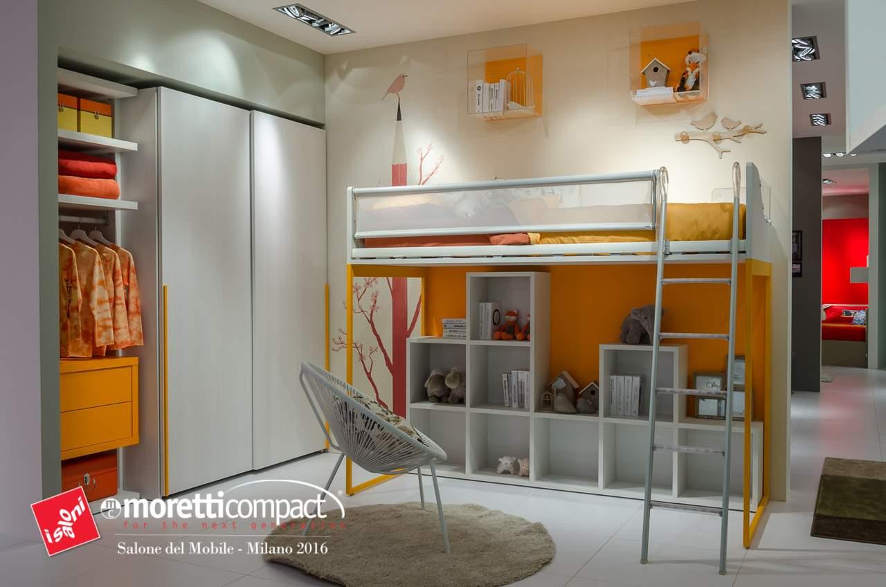 Moretti compact camerette arredamenti disea for Arredamenti olbia