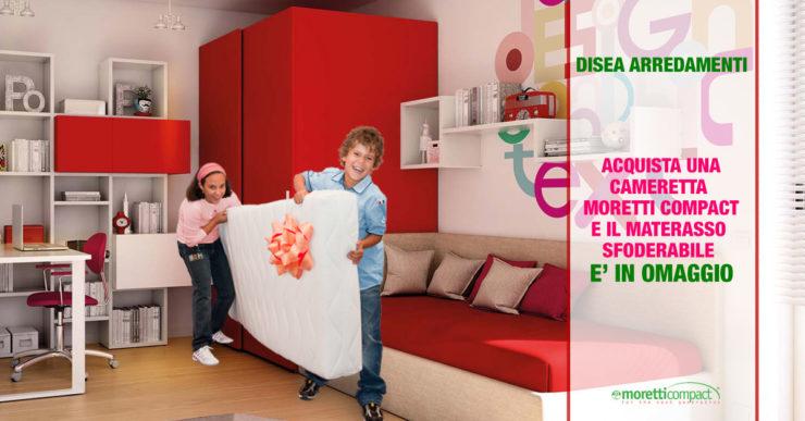 Da disea promozione materasso in omaggio con moretti for M3 arredamenti catalogo