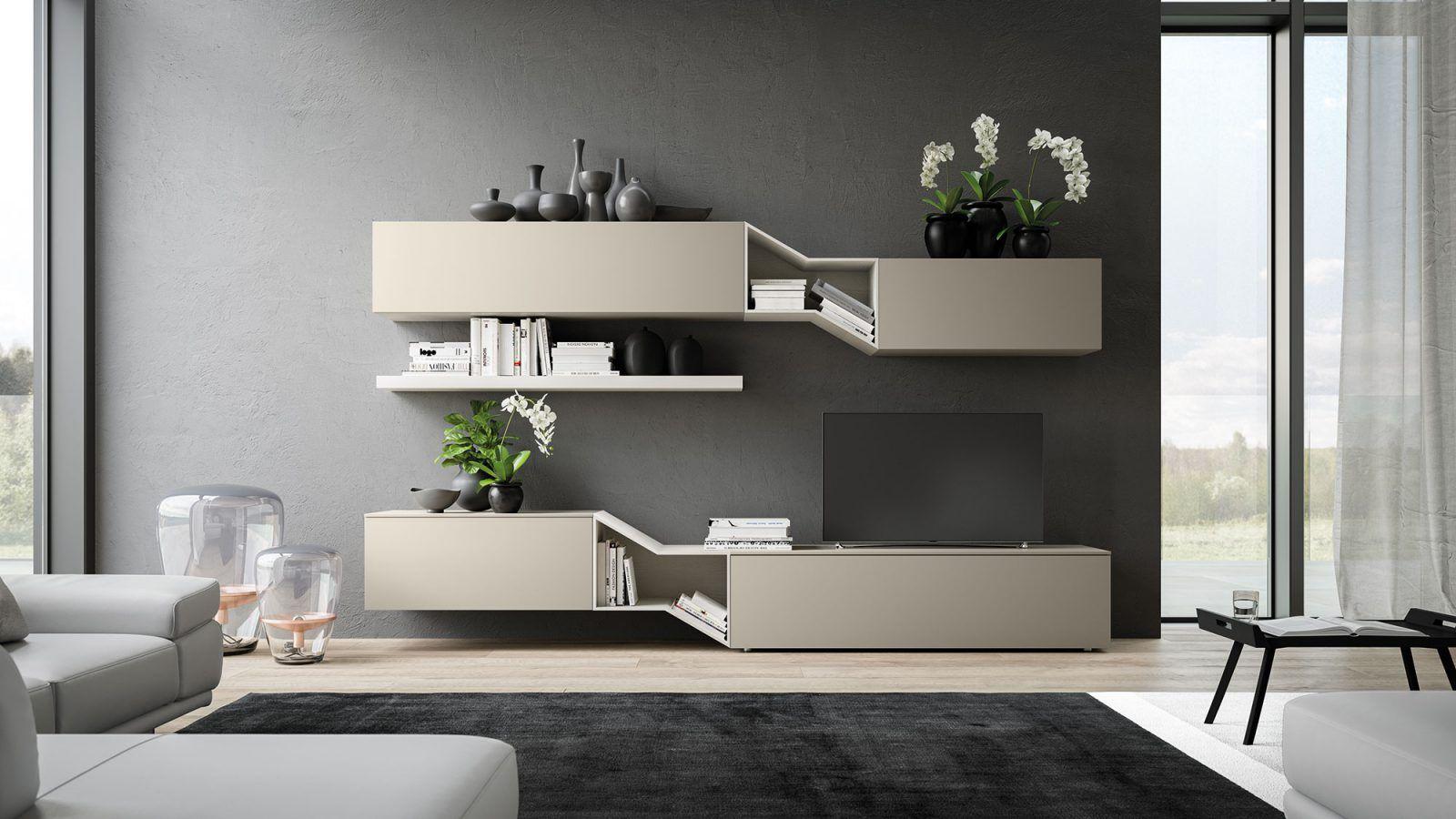Orme light giorno forme e colori per il living arredamenti disea - Programma disegno mobili ...