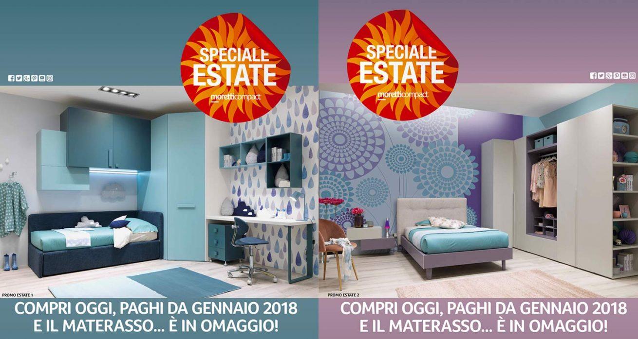 """Camerette Ragazzi Moretti Prezzi grande promozione """"speciale estate"""" moretti compact"""